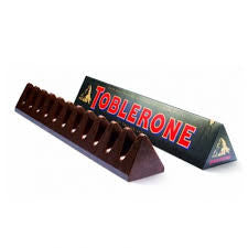 Toblerone Bittersweet Chocolate Bar 3.5oz 12 Count