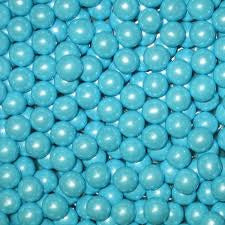 Pearl Powder Blue Sixlets 10LB Bulk