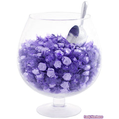 Grape Purple Foil Hard Candies 5LB Bulk