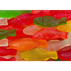 Assorted Sugar Free Gummi Fish 4.5LB Bulk