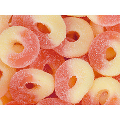 Strawberry Gummy Rings 5LB Bulk
