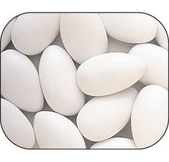 White Jordan Almonds 5LB Bulk