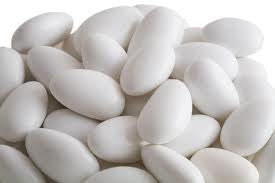 White Jordan Almonds 10LB Bulk
