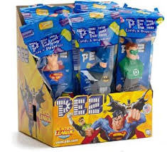 Pez Justice League Dispenser 12 Count