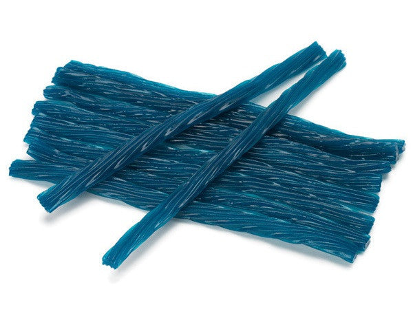 Blue Raspberry Juicy Twists 12LB Bulk