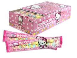 Hello Kitty Candy Necklaces 12 Count
