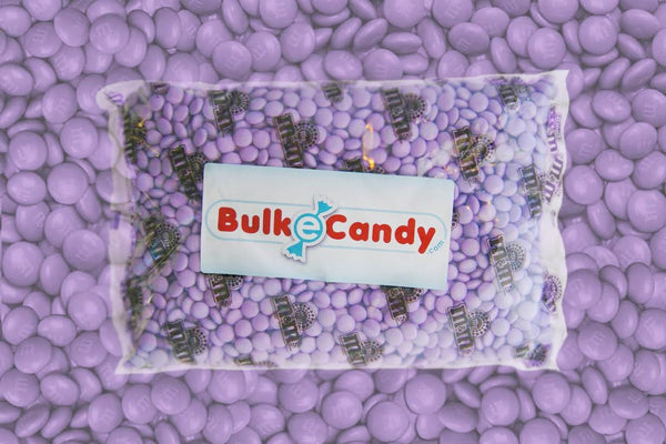 Bulk Light Purple M&M's 10lbs mandms ColorWorks mymms