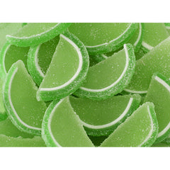 Lime Fruit Jelly Slices 5LB