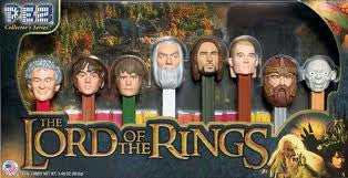 Pez Lord of the Rings Gift Set