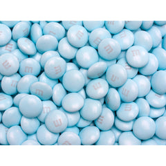 Bulk Light Blue M&M's 2pounds M&M Colorworks