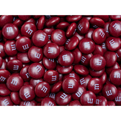 Bulk Maroon M&M's 2pounds M&M Colorworks