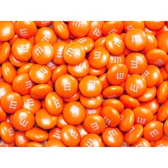 Bulk Orange M&M's 2pounds M&M Colorworks