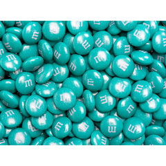 Bulk Teal Green M&M's 2pounds M&M Colorworks