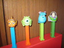 Pez The Best of Pixar Dispenser 12 Count