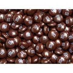 Bulk Brown M&M's 5lbs mandms ColorWorks mymms
