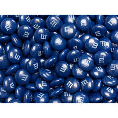 Bulk Dark Blue M&M's 10lbs mandms ColorWorks mymms