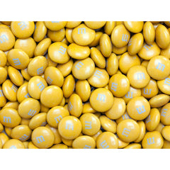 Bulk Gold M&M's 5lbs mandms ColorWorks mymms