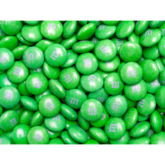 Bulk Green M&M's 10lbs mandms ColorWorks mymms