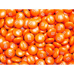 Bulk Orange M&M's 10lbs mandms ColorWorks mymms