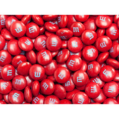 Bulk Red M&M's 5lbs mandms ColorWorks mymms