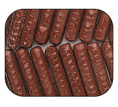 Milk Chocolate Raspberry Sticks 7.5LB Bulk