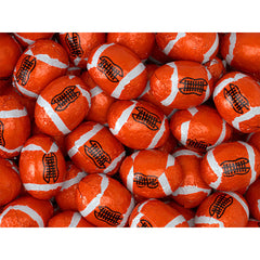 Milk Chocolate Footballs 5LB Bulk