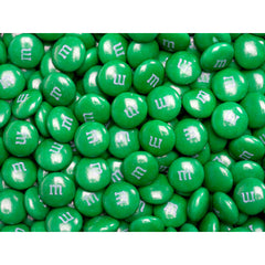 Bulk Dark Green M&M's 2pounds M&M Colorworks