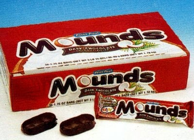 Mounds Bar 1.75oz 36 Count