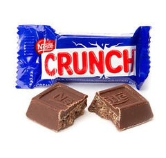 Nestle Crunch Fun Size 5LB Bulk