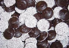 Dark Chocolate Nonpareils 20LB Bulk