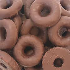 Milk Chocolate Orange Jelly Rings 25LB Bulk