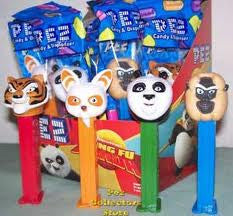 Pez Kung Fu Panda Dispenser 12 Count