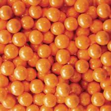 Pearl Orange Sixlets 10LB Bulk
