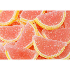 Pink Grapefruit Fruit Jelly Slices 5LB