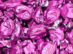 Peach Pink Foil Hard Candies 5LB Bulk