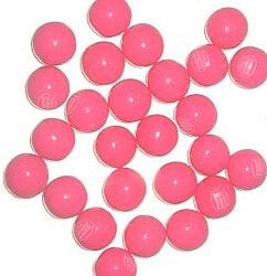 "Double Bubble Pink Lemonade Gumballs 1"" 850 Count Bulk"