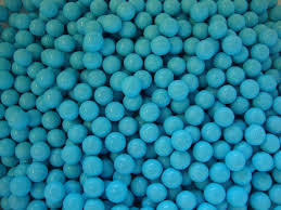Powder Blue Sixlets 10LB Bulk