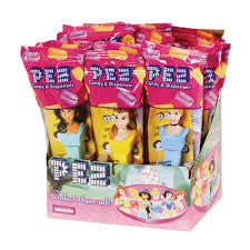 Pez Princesses Dispenser 12 Count