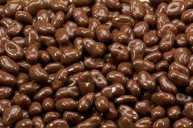 Milk Chocolate Raisins 10LB Bulk