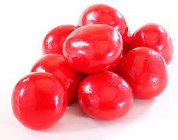 Red Chocolate Bing Cherries pastel candy  10LB Bulk