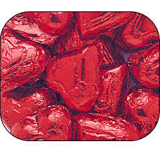 Milk Chocolate Red Hearts 10LB Bulk