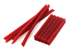 Red Raspberry Juicy Twists 12LB Bulk