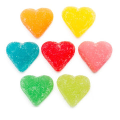 Sour Lovers Gummy Hearts 5LB Bulk