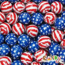 Milk Chocolate Stars and Stripes 5LB Bulk