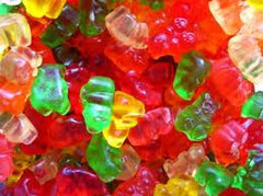 Super Gummi Bears 5LB Bulk