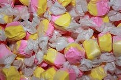 Strawberry Banana Taffy 5LB Bulk