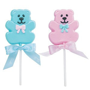Baby Bear Shaped Pops 24 Count