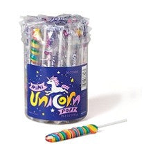 "Unicorn Pops, Mini 6"" 48 Count"