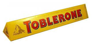 Toblerone Chocolate Bar 3.5oz 12 Count