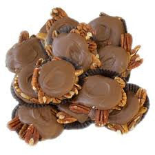 Milk Chocolate Pecan Turtles 5LB Bulk